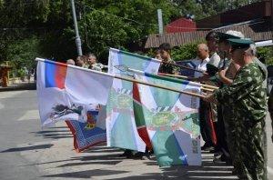 Фото праздника в честь зеленой фуражки в Феодосии #134