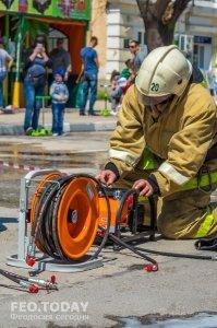 День пожарной охраны в Феодосии #8775