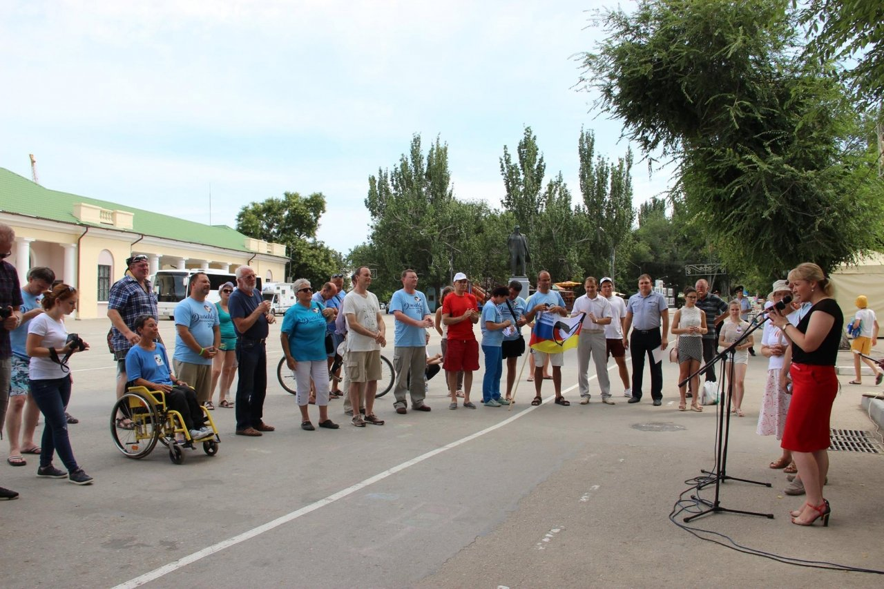 Фото визита участников автопробега Берлин—Москва в Феодосию #2320