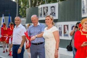 Фото торжественного открытия Доски почета в Феодосии #1068