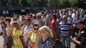 Фото принятия присяги в Краснокаменке #394
