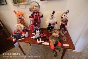 Выставка кукол. Музей Грина #7564
