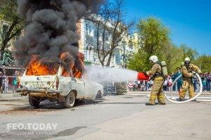 День пожарной охраны в Феодосии #8798