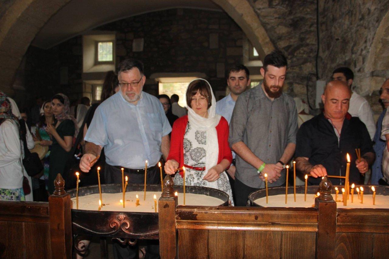 Фото почетных гостей на День города и юбилей Айвазовского в Феодосии #1107
