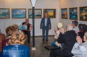 Открытие выставки «Морской пейзаж» в музее Грина #8072