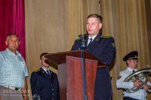Собрание ко Дню пограничника в Феодосии #11536