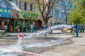 День пожарной охраны в Феодосии #8797