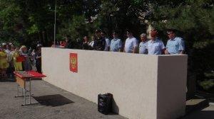 Фото принятия присяги в Краснокаменке #399