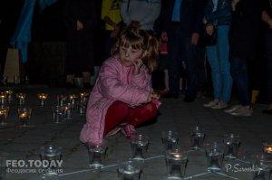 Акция «Зажги огонь в своем сердце» в Феодосии #10921