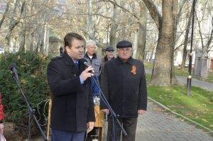 Фото митинга в честь Дня Героев Отечества в Феодосии #6219