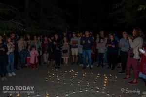 Акция «Зажги огонь в своем сердце» в Феодосии #10915