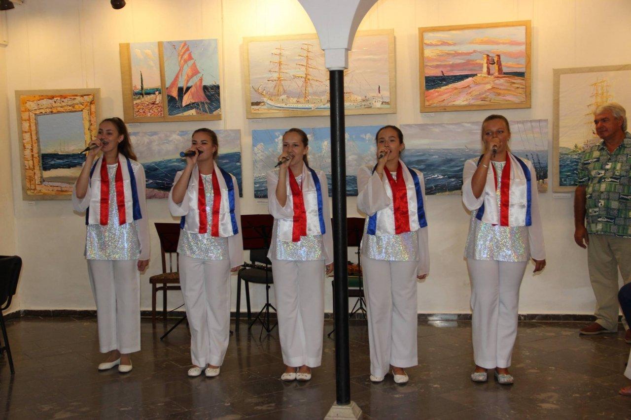 Фото открытия выставки «Море и любовь не терпят педантов» в Феодосии #1143