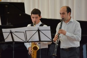 Фото новогоднего концерта в музыкальной школе №1 Феодосии #6364