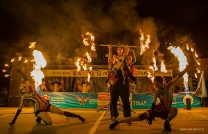 Фото фестиваля «Крым Fire-fest» в Коктебеле #2379