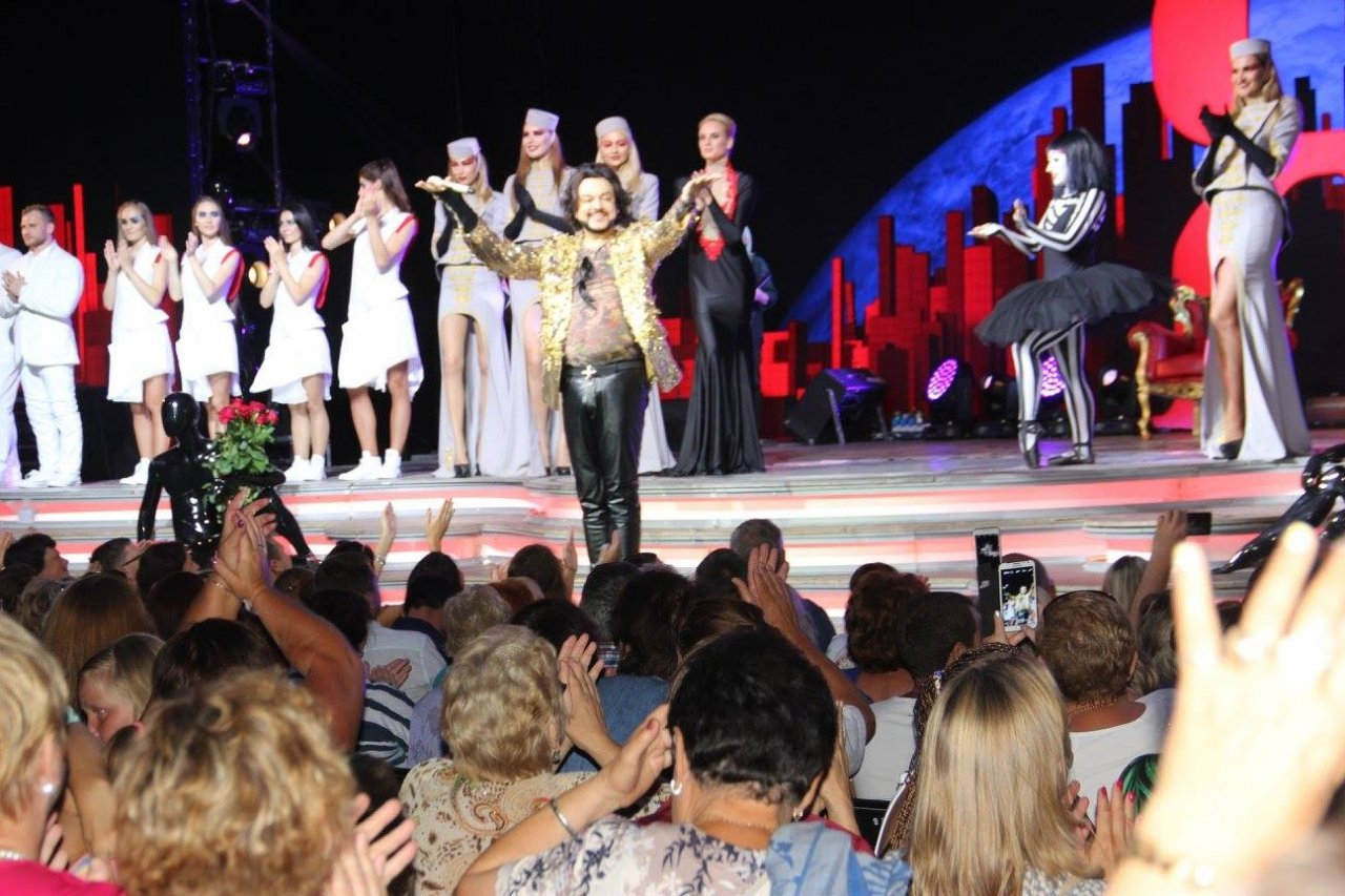 Фото концерта «Я Филипп Киркоров» в Феодосии #417