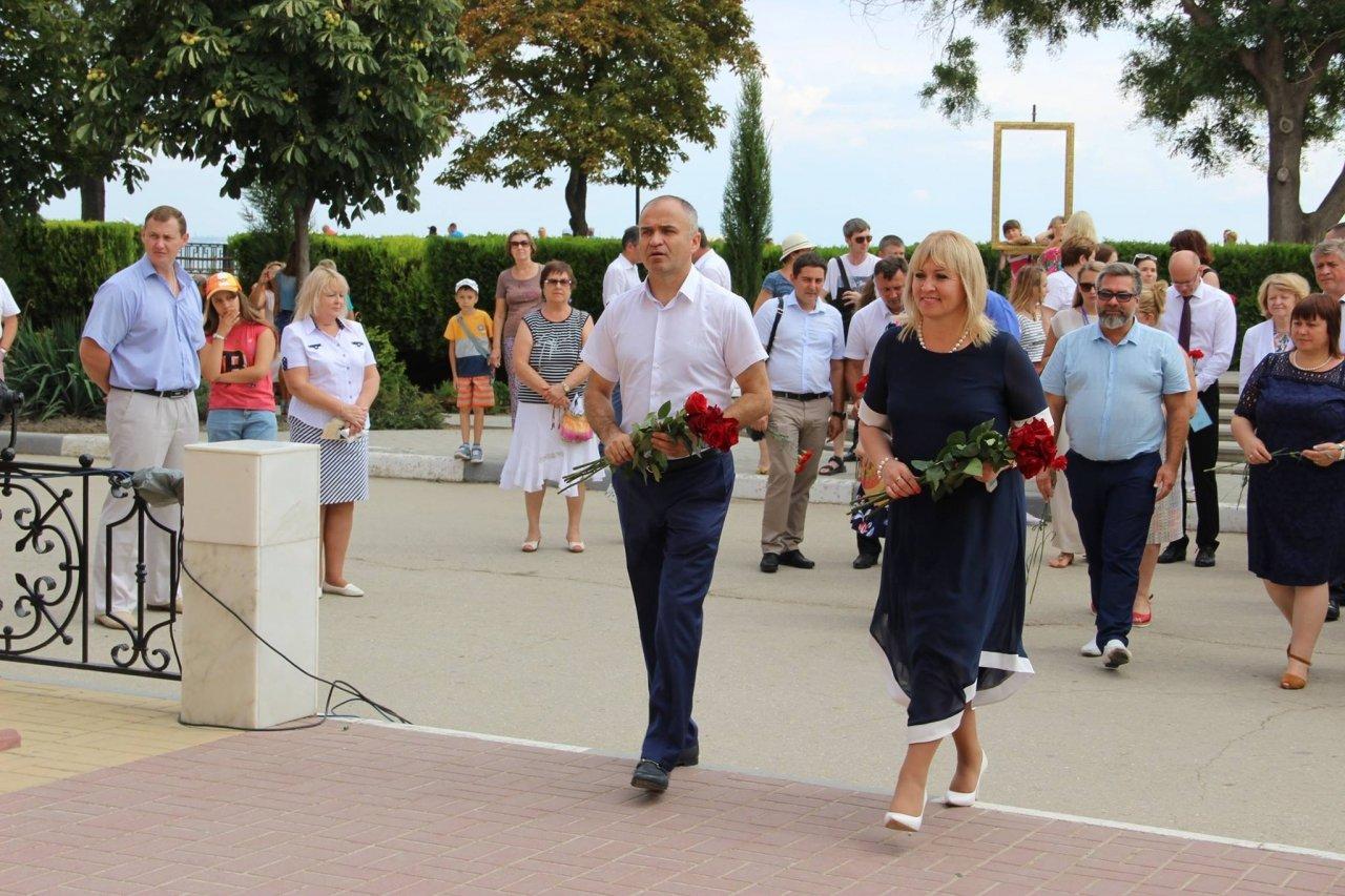 Фото почетных гостей на День города и юбилей Айвазовского в Феодосии #1135