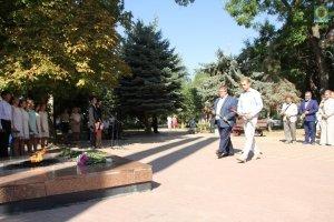 Фото митинга в Феодосии в память о жертвах терактов #3354