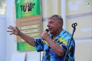 Фото выступления Александра Пяткова на Привокзальной площади Феодосии #3497