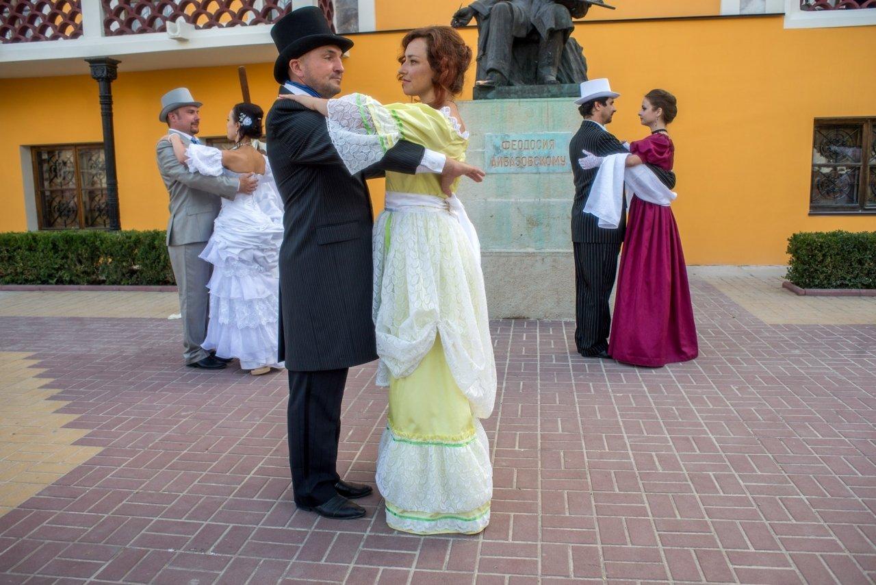 Фото прибытия Айвазовского в Феодосию #997