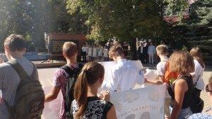 Фото митинга в Феодосии в память о жертвах терактов #3337