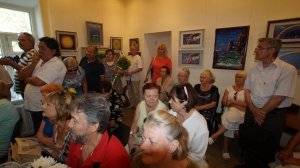 Фото открытия выставки МАЛЫШЕВА в музее ГРИНА #3411