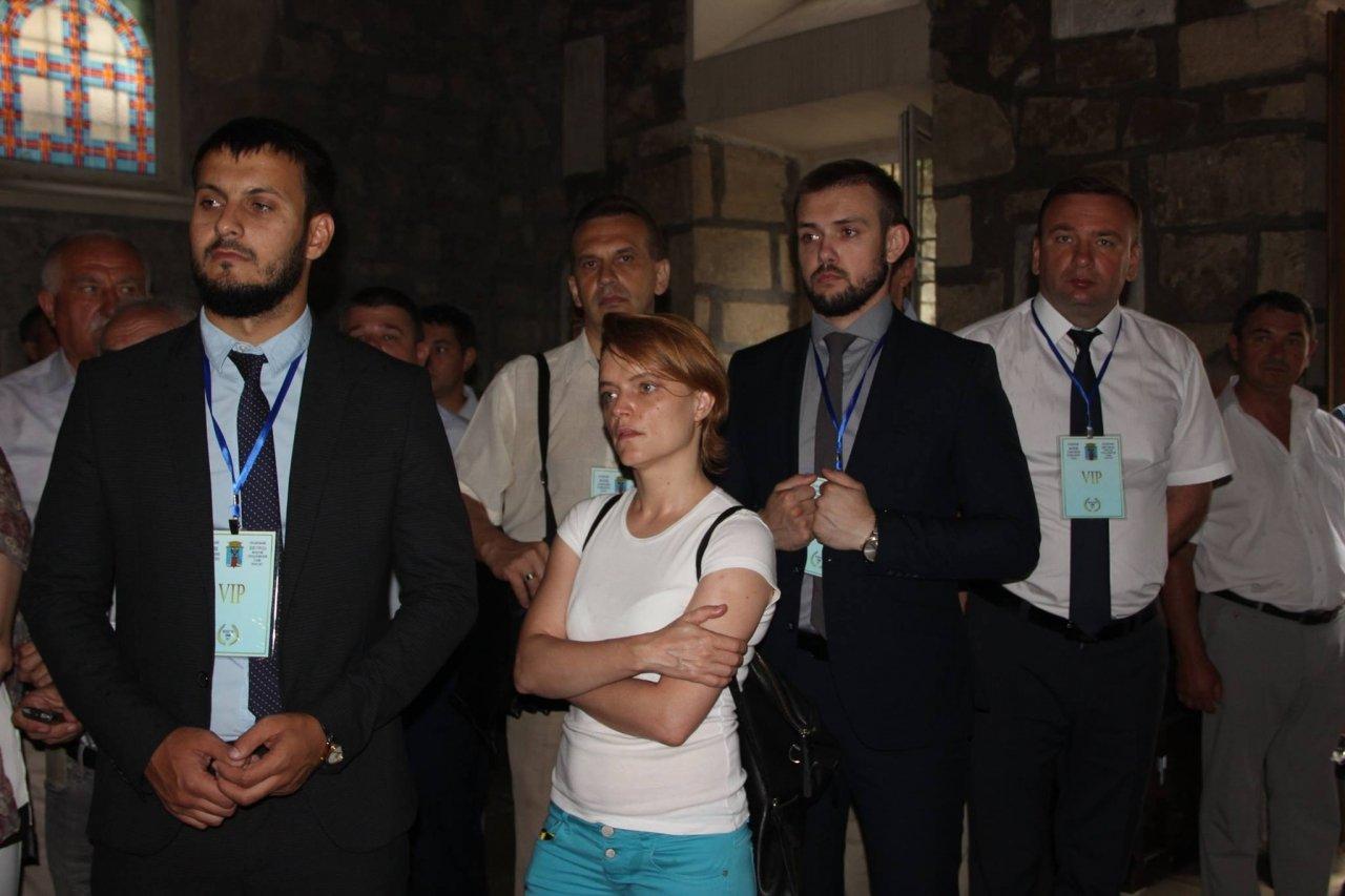 Фото почетных гостей на День города и юбилей Айвазовского в Феодосии #1108