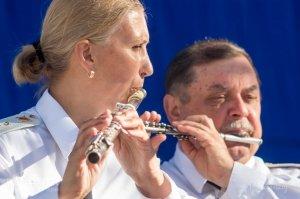 Фестиваль военных оркестров в Феодосии #12800