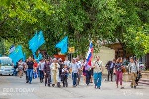 В Феодосии почтили память жертв депортации крымских татар #10861