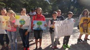 Фото митинга в Феодосии в память о жертвах терактов #3334