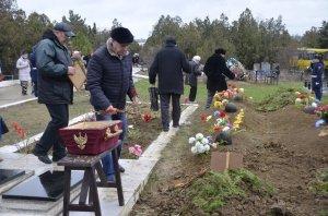 Фото траурной церемонии захоронения останков 35 бойцов Крымского фронта #6169