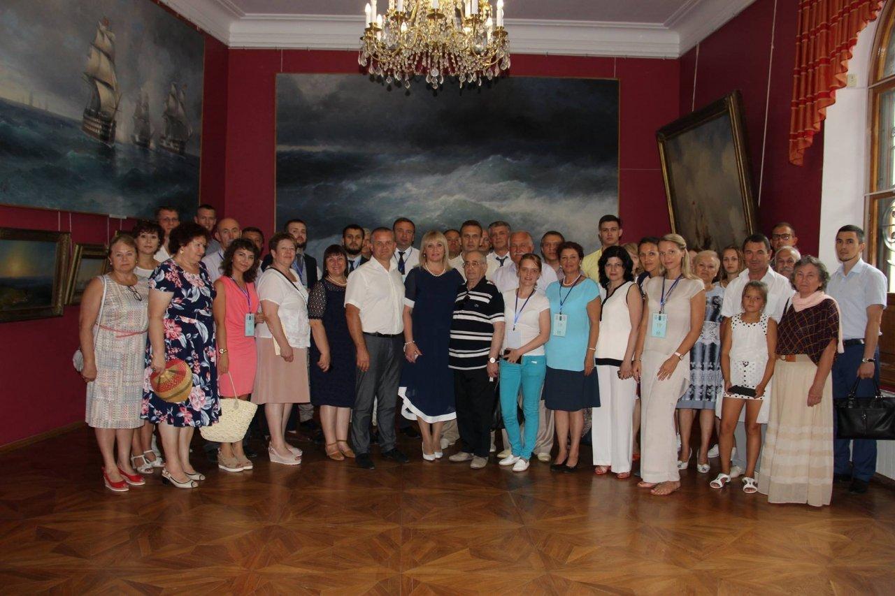 Фото почетных гостей на День города и юбилей Айвазовского в Феодосии #1136