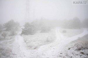 Первый снег в Феодосии #14530