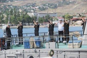 День ВМФ в Феодосии #13790