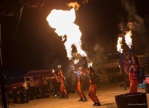 Фото фестиваля «Крым Fire-fest» в Коктебеле #2372