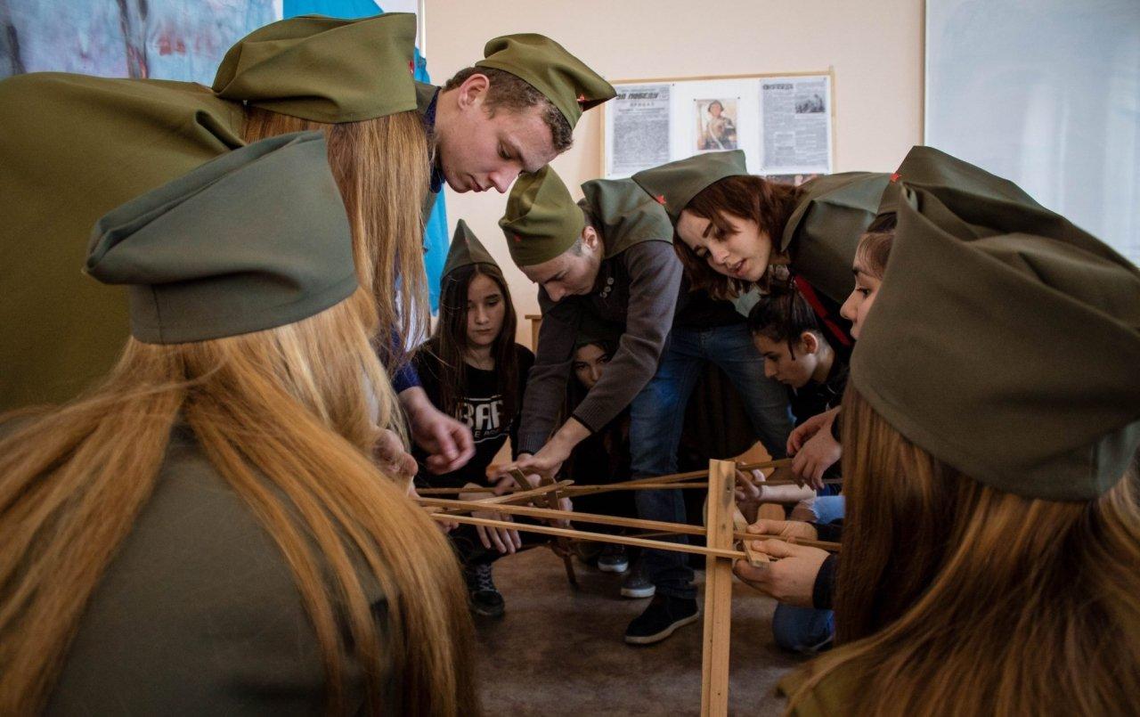 Квест «Сталинградская битва», Волонтеры Победы #6919