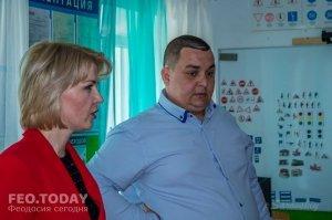 Открытие автомотошколы в Феодосии #8023