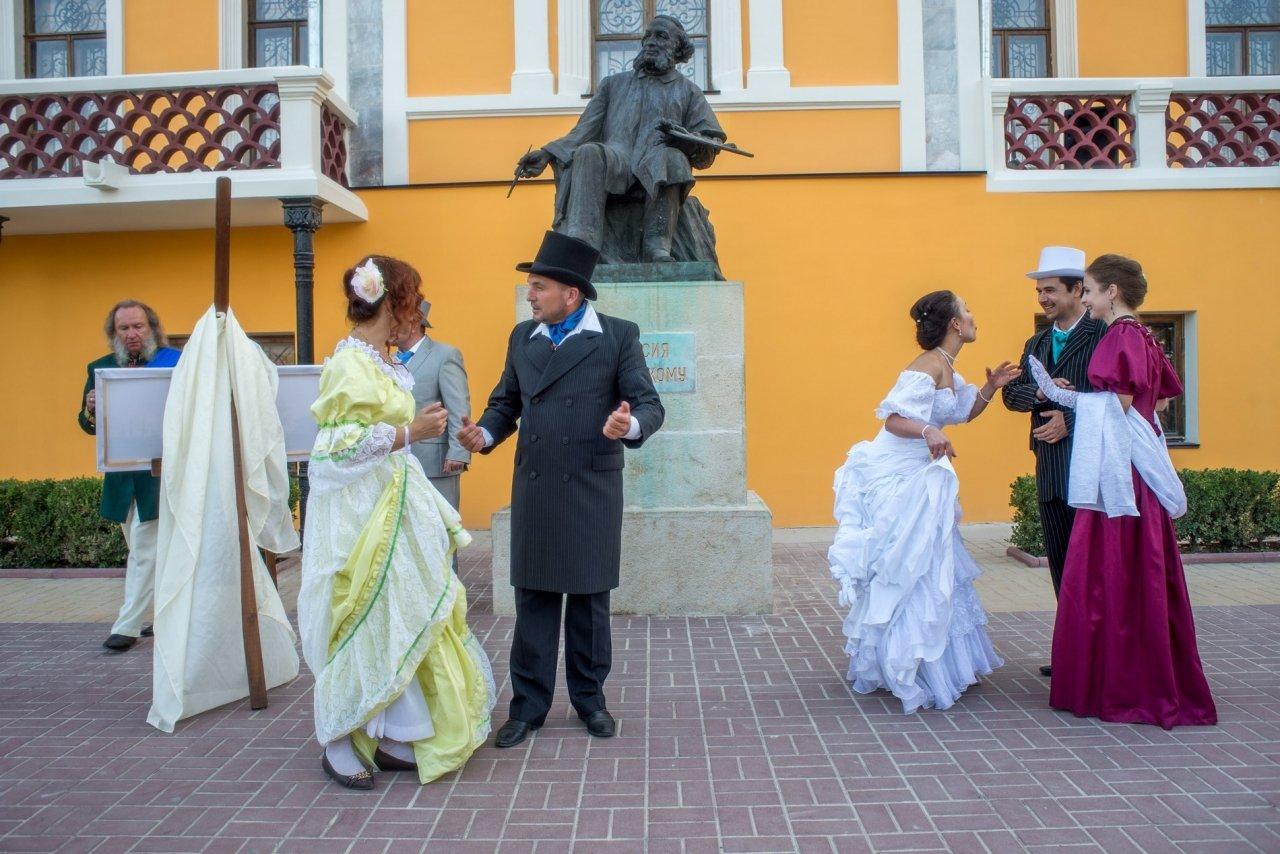 Фото прибытия Айвазовского в Феодосию #973