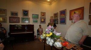 Фото открытия выставки МАЛЫШЕВА в музее ГРИНА #3407