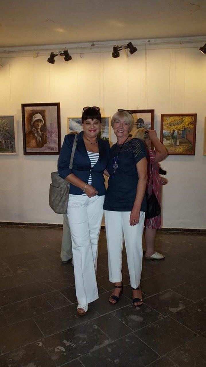 Фото открытия выставки Юшиной в музее ГРИНА #3388
