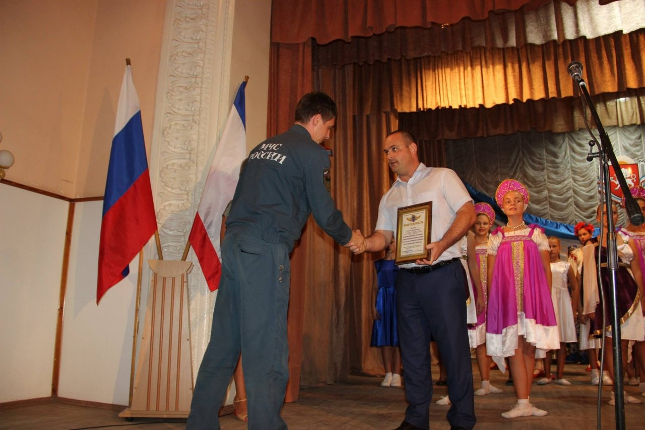Фото торжественного мероприятия ко Дню герба и флага Республики Крым #4282