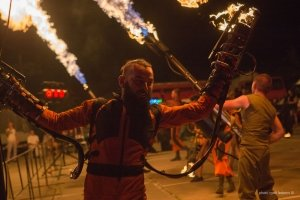 Фото фестиваля «Крым Fire-fest» в Коктебеле #2375