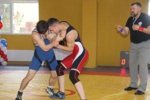 Открытый турнир по греко-римской борьбе в Феодосии #6840