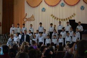 Фото новогоднего концерта в музыкальной школе №1 Феодосии #6356