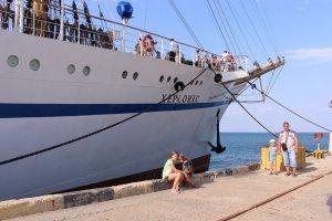 Фото парусного судна «Херсонес» в Феодосии #1191