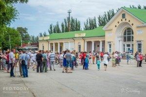 День пограничника в Феодосии #11688