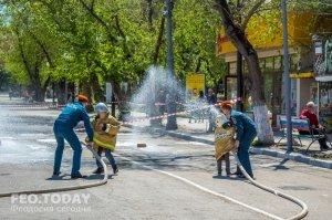 День пожарной охраны в Феодосии #8795