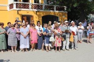 Фото спецгашения марки с Айвазовским в Феодосии #853
