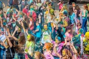 Фестиваль красок в Феодосии, май 2018 #11259
