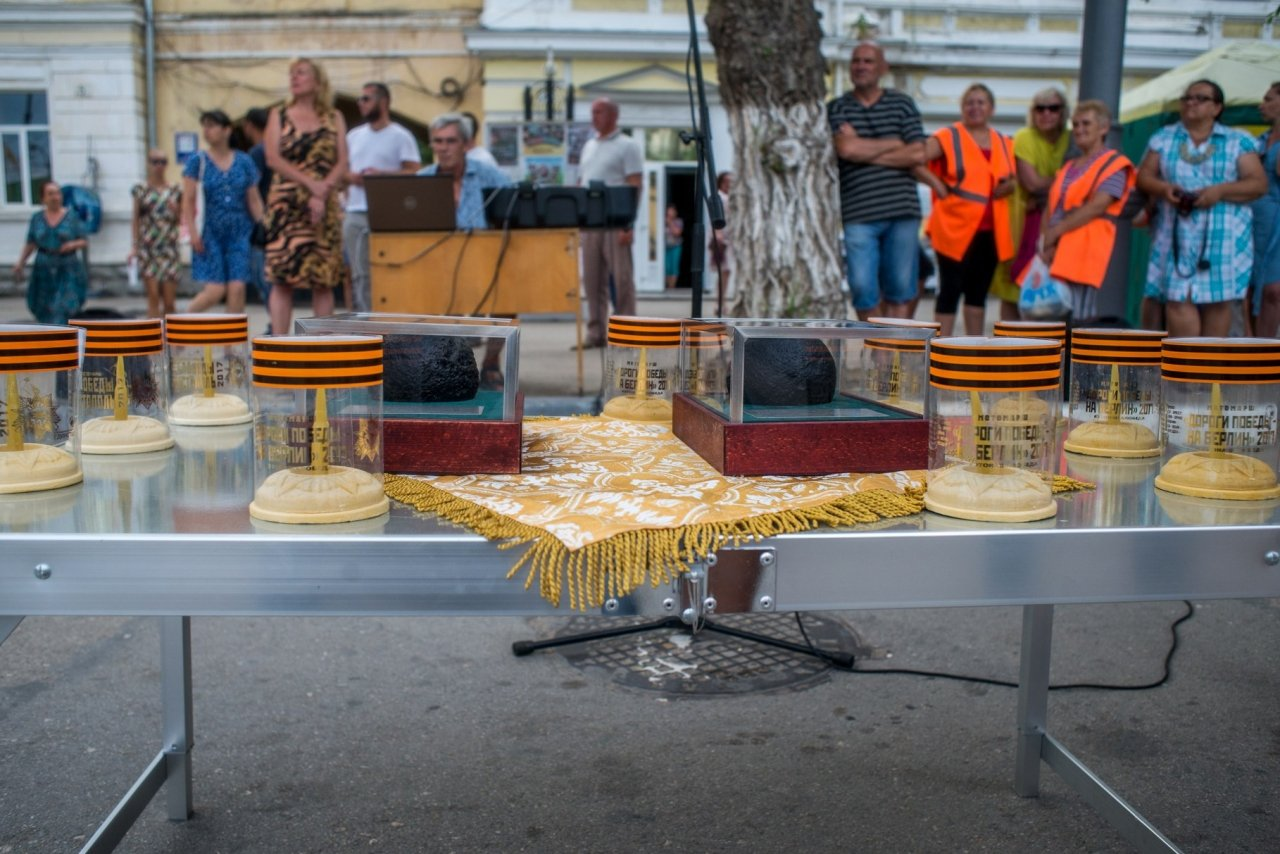 Ночные ВОЛКИ в Феодосии. Фото автомотопробега «Дорогами Победы» #2750