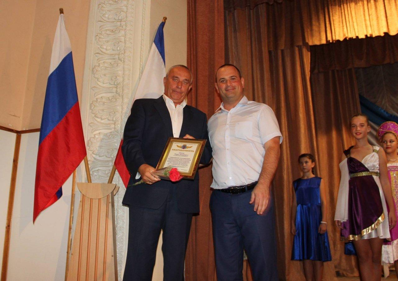Фото торжественного мероприятия ко Дню герба и флага Республики Крым #4292